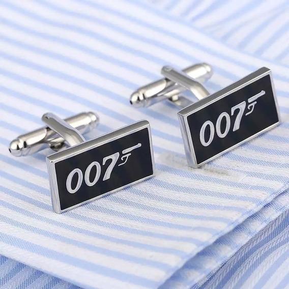 Gemelos, Mancuernillas Agente 007