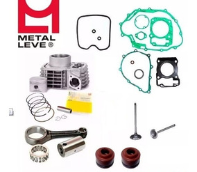 Kit Cilindro Motor Biela Completo Cg 150 Titan/fan Bros 150