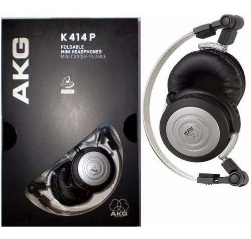 Fone Profissional Retorno Akg K414p C/ Bag - Original