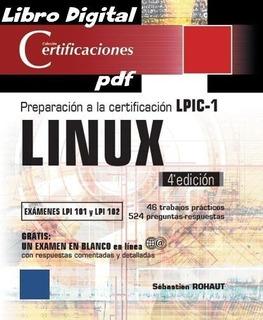 Titulo Linux - Lpic-1 Lpi 101 Y 102 - 4ª Edicion - No Fisico