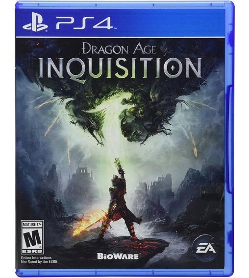 Dragon Age Inquisition Ps4 Mídia Física Lacrado