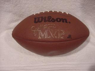 Balón Futbol Americano Wilson / Joe Montana San Francisco