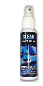 Clean Limpa Telas Implastec 60ml - Cx Com 5pcs