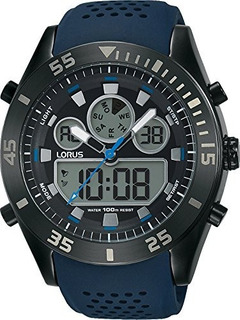 Reloj Digital Lorus By Seiko R2337lx9 Hombre Calendario 100m