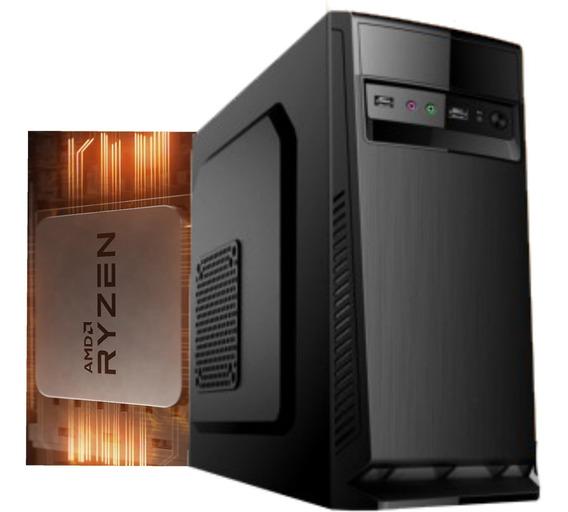 Computador Amd Ryzen 3 2200g Am4 A320m 8gb Ssd 240gb 230w