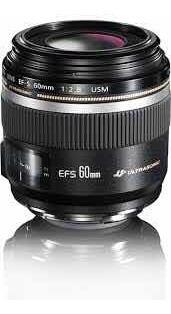 Lente Canon Ef-s 60mm F/2.8 Macro