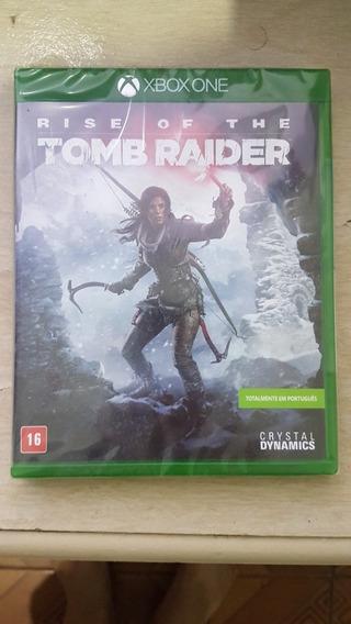 Rise Of Tomb Taider Xbox One Mídia Física Lacrado