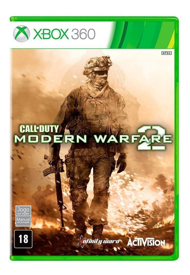 Call Of Duty Modern Warfare 2 Xbox 360 Original Novo Lacrado