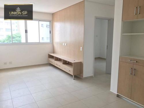 Apartamento Com 2 Dormitórios À Venda, 45 M² Por R$ 680.000 - Santa Cecília - São Paulo/sp - Ap49379