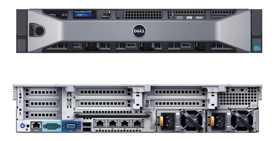 Servidor Dell R730xd- 2 X Xeon, 192 Gb Ram, 2 X 300gb 10k, Fonte Redudante - Garantia Até Abril De 2020!