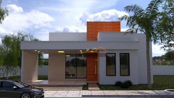 Casa Com 3 Suítes À Venda, 179 M² Por R$ 750.000 - Condomínio Portal Da Vila Rica - Itu/sp - Ca1167