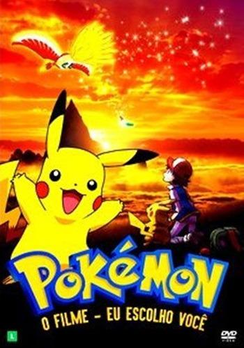 Dvd Pokémon O Filme - Eu Escolho Você - Lançamento 2017