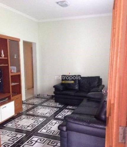 Casa Com 3 Dormitórios À Venda, 174 M² Por R$ 535.000,00 - Santa Maria - Santo André/sp - Ca0924