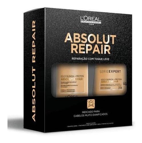 Absolut Repair Gold Quinoa + Proteína Sh 300ml + Másc 250g