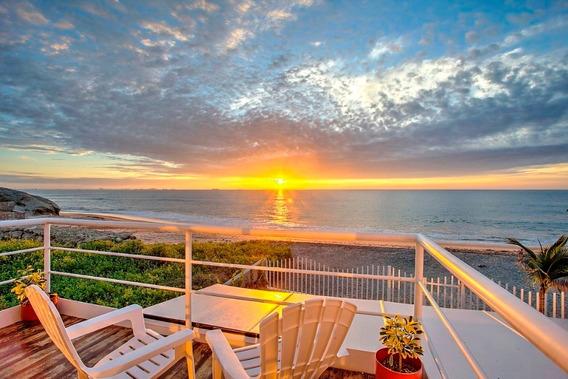 Hermosa Casa En La Playa Y Frente Al Mar Cerca Puntabarandua