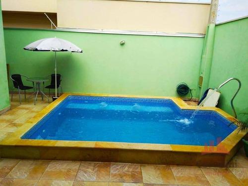 Casa Com 3 Dormitórios À Venda, 130 M² Por R$ 425.000,00 - Jardim Altos Do Klavin - Nova Odessa/sp - Ca2826