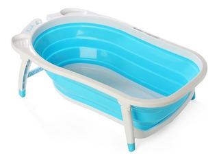 Bañera Para Bebé Plegable Compacta Y Antideslizante Karibu