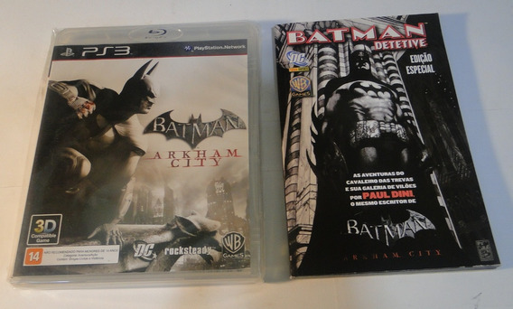 Batman - Arkham City Ps3 - Wb Games - Original