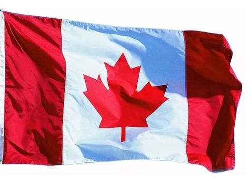 Bandeira Da Canadá 1,50x0,90m Pronta Entrega