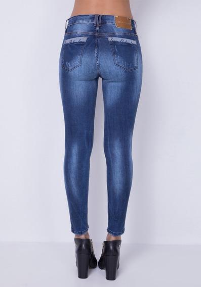 Calça Jeans Diana Skin Ankle Lança Perfume Original
