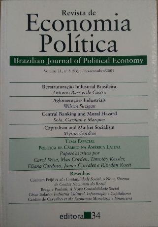 Revista De Economia Política Vol. 21 Nº3 Antonio Barros / W