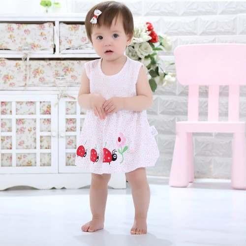 Body Bebê Vestido Infantil Menina Importado