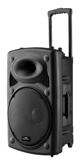 Caixa De Som Bluetooth Amplificada 300w Microfone Bateria