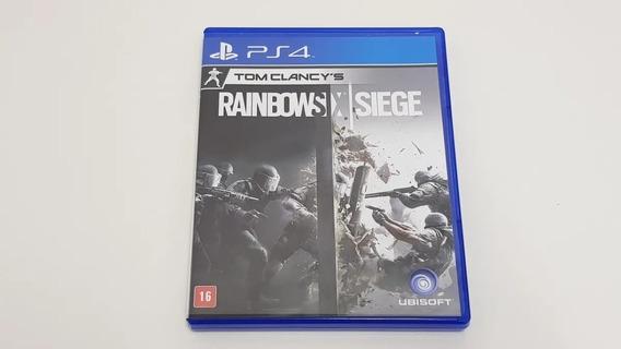 Tom Clancys Rainbow Six Siege Ps4 Mídia Fisica Português
