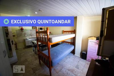 Studio Térreo Mobiliado Com 1 Dormitório - Id: 892895126 - 195126