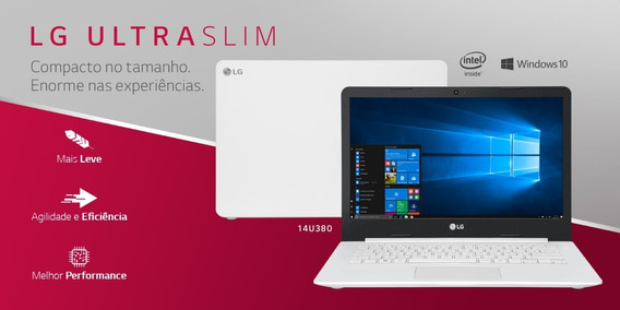 Notebook Lg Ultra Slim 14u380 Na Caixa