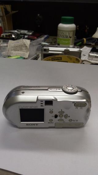 Camera Sony Compacta Modelo Cybershot_dscp73 Com Defeito
