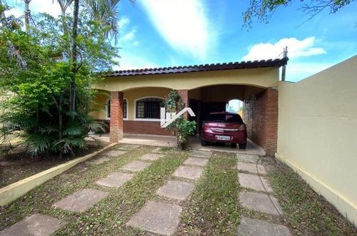 Imagem 1 de 14 de Casa Com Piscina Em Itanhaém 600mts Do Mar, Rua Calçada.