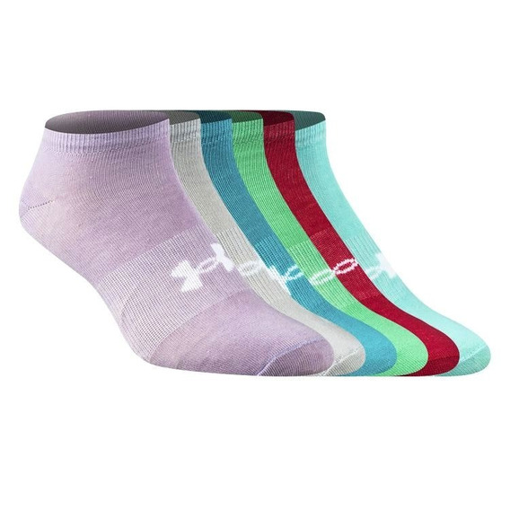 Medias Under Armour Pack X 6 Multicolor Mujer -sporting