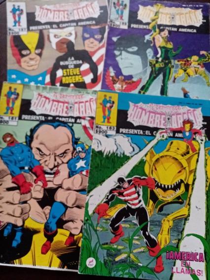 El Asombroso Hombre Araña Presenta El Capitan America Varios