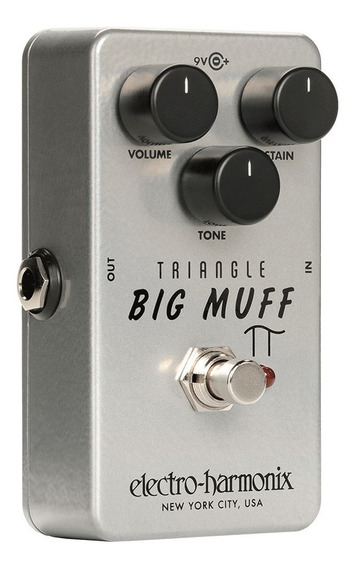 Pedal Ehx Triangle Big Muff Pi Distortion Sustainer C/nota