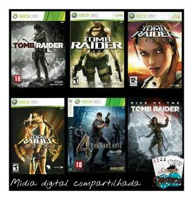 Resident Evil 4 // + 4 Tomb Raider Midia Digital Xbox 360