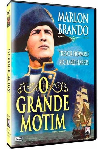 O Grande Motim - Dvd - Marlon Brando - Richard Harris
