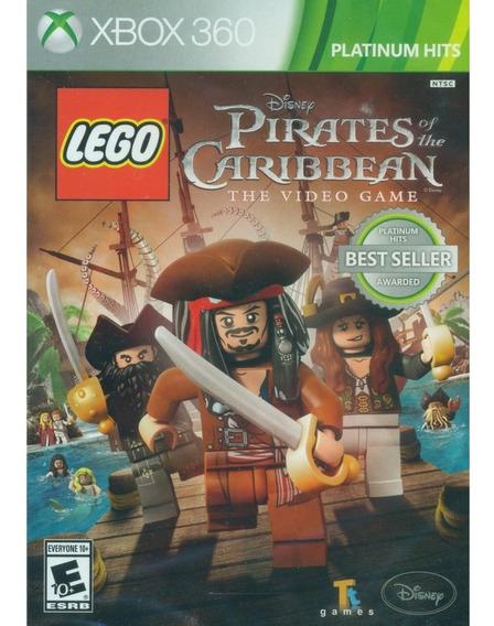 Game Xbox 360 - Lego Pirates Of The Caribbean - Usado Bom