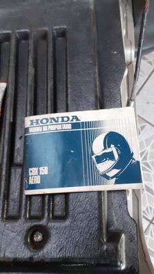 Manual Da Cbx 150 Honda Perfeito
