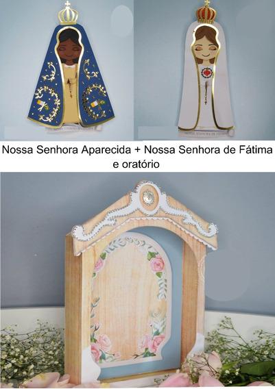 Arquivo De Corte Nossa Senhora Aparecida Fatima + Oratorio