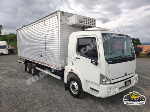 Agrale 9200 Mwm Truck 6x2 Cabine Leito Baú Refrigerado