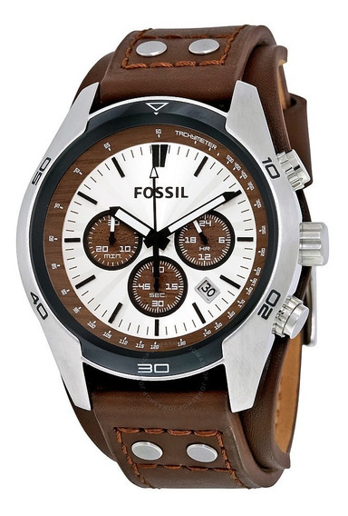 Relógio Fossil Cuff Cronógrafo Masculino Ch2891/2pn 100% Eua