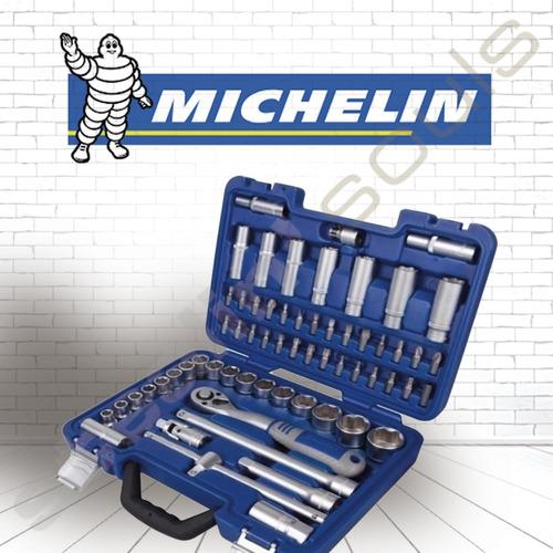 Michelin   Set   Tubos & Accesorios   Encastre 1/2   62 Piez