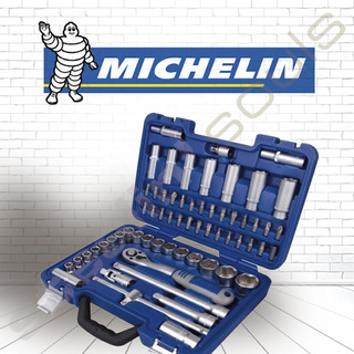 Michelin | Set | Tubos & Accesorios | Encastre 1/2 | 62 Piez