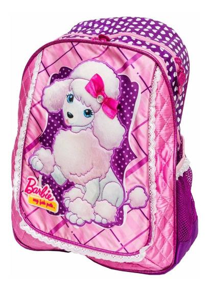 Mochila Barbie Pets Infantil Menina Original Sestini 63215