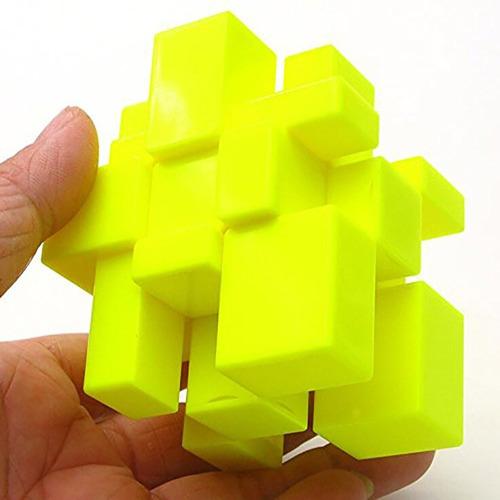 Cubo Rubik Qiyi 3x3 Mirror Blocks Magic Cube Stickerless