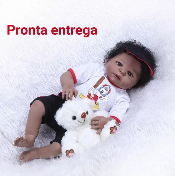 Bebê Reborn Menino Negro