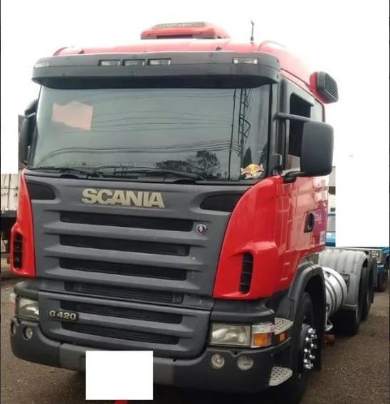 Scania G 420 - 2008 - 6x2 - Manual - Único Dono - Imperdível