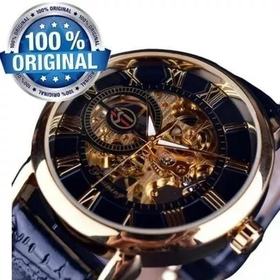 Relógio Masculino Forsining Original Mecanico Luxo Importado