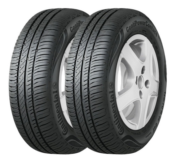 Kit X2 Cubiertas 185/60 R15 84h Continental Power Contact